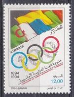 Algerien Algeria Algerie 1994 Organisationen Olympia Olympics IOC Olympisches Komitee Flaggen Flags, Mi. 1110 ** - Algerien (1962-...)