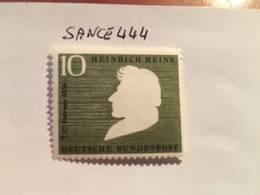 Germany H. Heine Poet 1956 Mnh - [7] Federal Republic