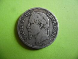 FRANCE @ 2 Francs NAPOLEON 3 De 1869 A @ Argent 83,5 % 10 Gr - France