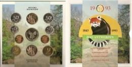 FDC Setje  1993  Frans + Vlaams * AAN UITGIFTE PRIJS - 1951-1993: Baudouin I
