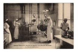 SANTE - Hôpital-Ecole De La Société De Secours Aux Blessés Militaires, Salle De Stérilisations - Salute