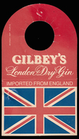 Cravatta Per Bottiglie: Gilbey's - London Dry Gin - Altri