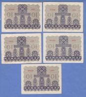 5 Stück 10 KRONEN BANKNOTEN 1922, Sehr Gute Erhaltung - Austria