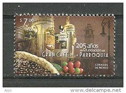 Café De La Parroquia De Vera Cruz (el Café-restaurante Mas Famoso De La República Mexicana) 1 T-p Neuf ** Année 2013 - Mexico
