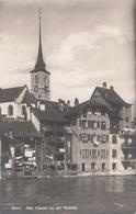 BERN - ALTE HÄUSER AN DER NYDECK, Gel.1927 - BE Bern