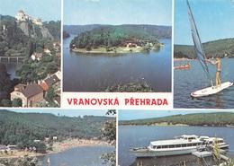 CESKOSLOVENSKO - 5 Fach Frankierung Auf Ak VRANOVSKA PREHRADA - Ganzsachen