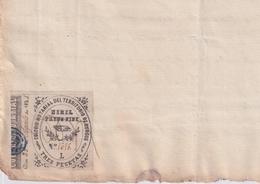 F-EX16311 ESPAÑA SPAIN 1881 REVENUE NOTARIOS ESCRIBANOS NOTARIES LAWYER . BURGOS 3 Ptas. SERIE L. - Sellos