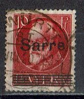 Saargebiet 1920 // Mi. 19 O - Oblitérés
