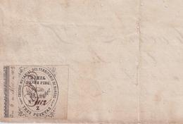 F-EX16329 ESPAÑA SPAIN 1879 REVENUE NOTARIOS ESCRIBANOS NOTARIES LAWYER . BURGOS 12 Rs. SERIE Z. - Fiscale Zegels