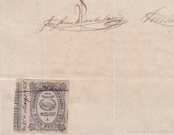 F-EX16330 ESPAÑA SPAIN 1871 REVENUE NOTARIOS ESCRIBANOS NOTARIES LAWYER . MADRID 3 Ptas. SERIE A - Revenue Stamps
