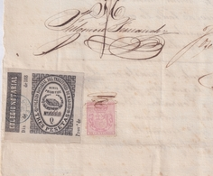 F-EX16341 ESPAÑA SPAIN 1882 REVENUE NOTARIOS ESCRIBANOS NOTARIES LAWYER . MADRID 3 Ptas. SERIE Q. - Revenue Stamps