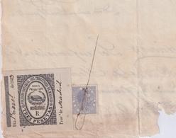 F-EX16342 ESPAÑA SPAIN 1883 REVENUE NOTARIOS ESCRIBANOS NOTARIES LAWYER . MADRID 3 Ptas. SERIE R. - Revenue Stamps