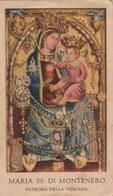 Santino Antico Madonna Di Montenero Da Livorno - Religione & Esoterismo