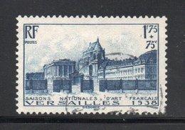 YT 379 Oblitéré - Côte 21.50 € - Très Beau Timbre - Sans Défaut - - Francia