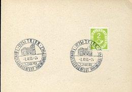 46207 Germany, Special Postmartk 1953 Trier, Archeology, Porta Nigra, Roman City Gate In Trier, Archeologie - Archaeology