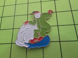 818A Pin's Pins / Beau Et Rare : THEME : SPORTS / SPORTS D'HIVER SURFEUR DES NEIGES - Winter Sports