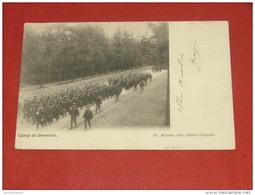 KAMP VAN BEVERLOO - CAMP DE BEVERLOO  - Défilé Militaire   -  1903 - Leopoldsburg (Camp De Beverloo)