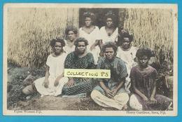 OCEANIE**** Fidji Island - Fijian Women ,Fiji (colorisée) - Fiji