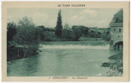 81 - B16553CPA - SEMALENS - La Chaussee - Très Bon état - TARN - France