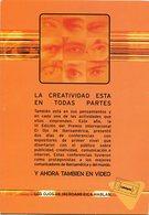 LATINSPORTS, LA CREATIVIDAD AHORA EN VIDEOCASETE, VIDEOCINTA. ARGENTINA POSTAL PUBLICIDAD AÑO 2001 NO CIRCULADO - LILHU - Publicidad