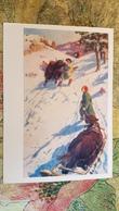 "MONGOLIA - ""In The Mountains"" By Zevegzhav / 1959 - Domestic Yak - Mongolei"