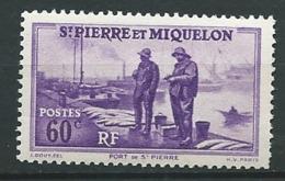 Saint Pierre Et Miquelon -  Yvert N° 198 ** - Ah 30104 - Unused Stamps