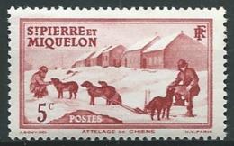 Saint Pierre Et Miquelon  - Yvert N° 170 **  -    Ah 30120 - St.Pierre Et Miquelon