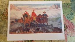 "MONGOLIA - ""Has Batoor"" By Ogon / 1959 - Horse - Mongolei"