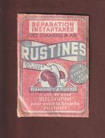 Pochette De RUSTINES Pour Chambres à Air De VELOS - Années 1950/60 - Non Ouverte - 2 Scannes - Vieux Papiers