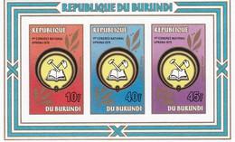 Burundi Hb 112sd SIN DENTAR - Burundi