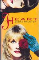 Heart- Desire Walks On - Cassettes Audio