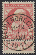 """Grosse Barbe - N°74 Obl Relais (concours) """"Beirendrecht"""" - 1905 Grosse Barbe"""