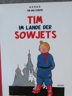 TINTIN : Tim Im Lande Der Sowjets / Tintin Au Pays Des Soviets 2004 Carlsen Comics - Livres, BD, Revues