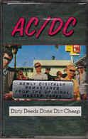 AC/DC- Dirty Deeds Done Dirt Cheap - Cassettes Audio