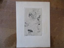CORRIDA GRAVURE NON SIGNEE 13cm/8cm - Prints & Engravings