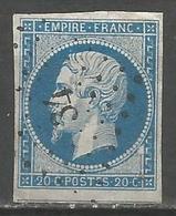 FRANCE - Oblitération Petits Chiffres LP 34 AIXE-SUR-VIENNE (Haute-Vienne) - 1849-1876: Periodo Classico