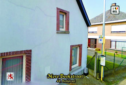 Set 14 Cartes Postales,transport, Belgium, Mere (Erpe-Mere), Mere Bus Stations - Autobus & Pullman