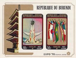 Burundi Hb 39sd SIN DENTAR - Burundi