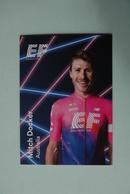 CYCLISME: CYCLISTE : EQUIPE EF EDUCATION 2019 Format 9 X 6.3 : MITCH DOCKER - Ciclismo