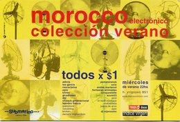MOROCCO, ELECTRONICO. SUBMARINO LIBROS Y CD's. ARGENTINA POSTAL PUBLICIDAD AÑO 2000 NO CIRCULADO - LILHU - Publicidad