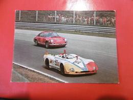PORSCHE CARRERA-PORSCHE 907-AUTO-CAR-VOITURES-COCHE- CARTOLINA VERA FOTOGRAFIA NON VIAGGIATA - Cartes Postales