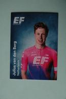 CYCLISME: CYCLISTE : EQUIPE EF EDUCATION 2019 Format 9 X 6.3 : JULIUS VAN DEN BERG - Ciclismo