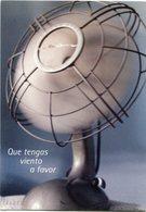 SUERTE FOTOGRAFIA DE VIOLETA LAURIA, VENTILADOR. ARGENTINA POSTAL PUBLICIDAD CIRCA 2000's NO CIRCULADO - LILHU - Fotografía