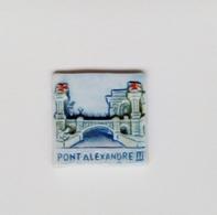 Fève Publicitaire Mauduit Pierre Pont Alexandre III - Regions