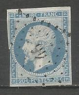 FRANCE - Oblitération Petits Chiffres LP 46 ALLAIRE (Morbihan) - 1849-1876: Periodo Classico