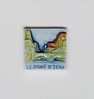Fève Publicitaire Mauduit Pierre Pont D'Ièna - Regions