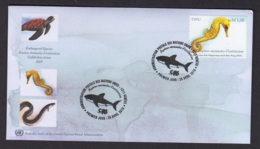 2.- UNITED STATES 2019 FDC GENEVA OFFICE - ENDANGERED SPECIES - FDC