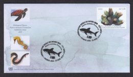 5.- UNITED STATES 2019 FDC GENEVA OFFICE - ENDANGERED SPECIES - FDC