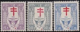 Belgie    .    OBP    .   234/236       .     **         .     Postfris   .   /   .  Neuf SANS Charniere - Bélgica