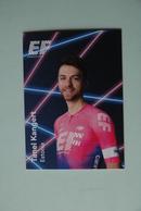 CYCLISME: CYCLISTE : EQUIPE EF EDUCATION 2019 Format 9 X 6.3 : TANEL KANGERT - Ciclismo